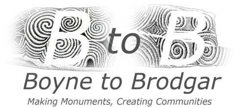 Boyne to Brodgar logo